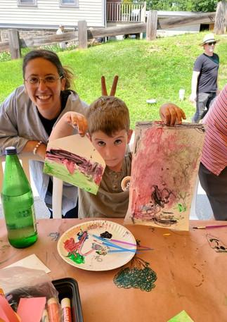 Riverfest Art Tent