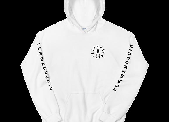 """FemmeDuSoir """"Logo"""" W/ Sleeve Hoodie"""