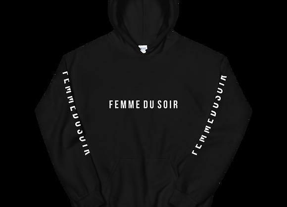 """Femme Du Soir """"FemmeDuSoir """" W/ Sleeve Hoodie"""