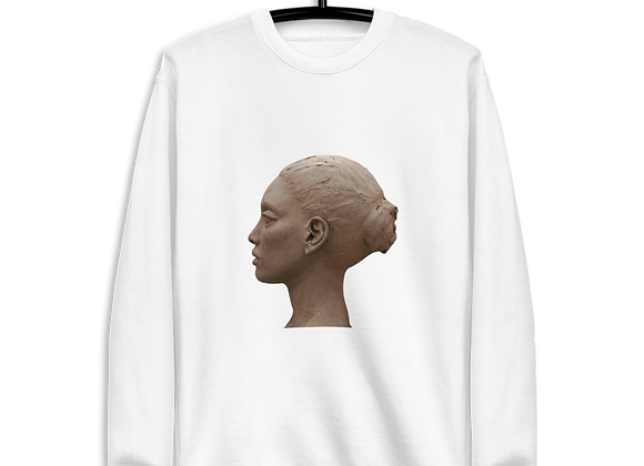 "FemmeDuSoir ""Tête De Femme Sculpture"" Unisex Pullover"
