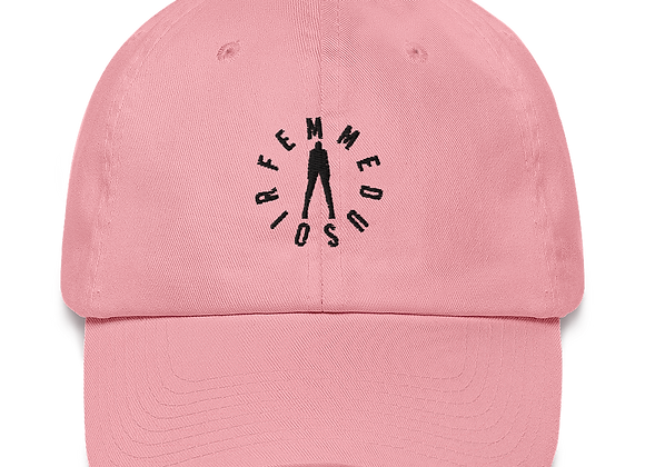 "FemmeDuSoir ""Pink Classic Logo Hat"""