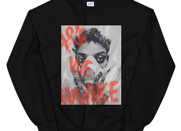 "FemmeDuSoir ""Are We Awake"" Unisex Sweatshirt"