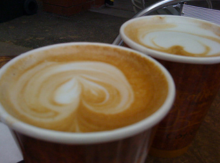 Separate bins for takeaway coffee cups