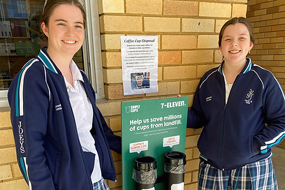 Recycle coffee cups at school - find out if you are eligible