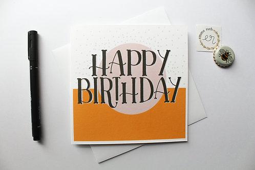 Birthday Card | Rainbow 1