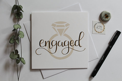 Engagement Ring Card