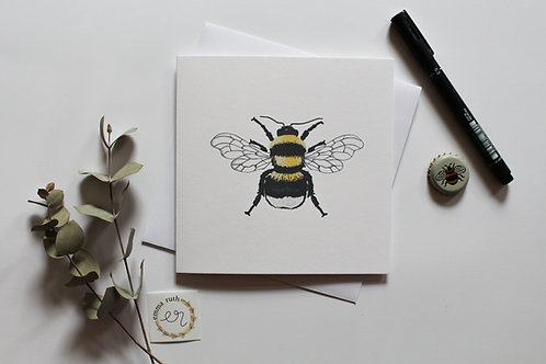 The Humble Bee Card