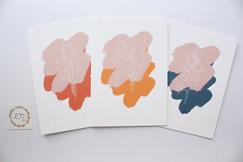 Spring Flower Notecards