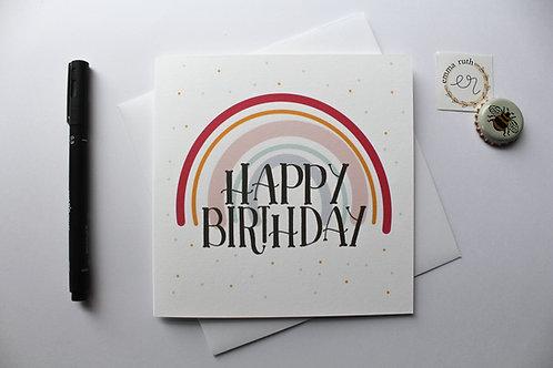 Birthday Card | Rainbow 3