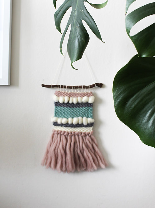 Weaving wall hanging | Calm