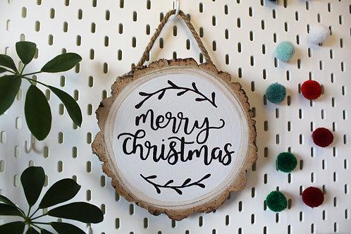 Merry Christmas Log