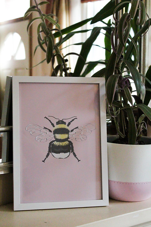 -The Humble Bee Print