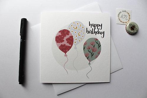 Birthday Card | Flower 2