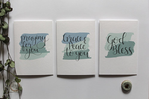 Encouraging Cards Pack of 3