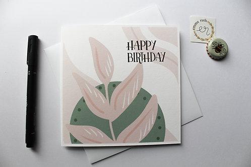 Birthday Card   Flora 2