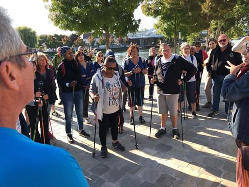 Près de 90 participants aux marches du patrimoine de Cergy-Pontoise !