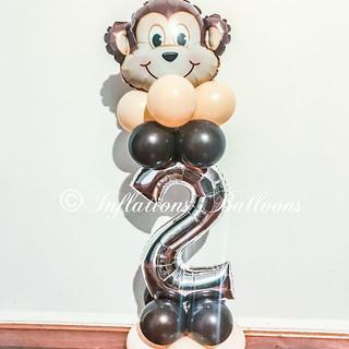 #inflationsballoons #balloons #monkeybal