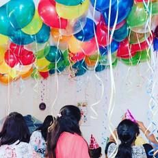 Loose Jewel Balloons, just a festive loo