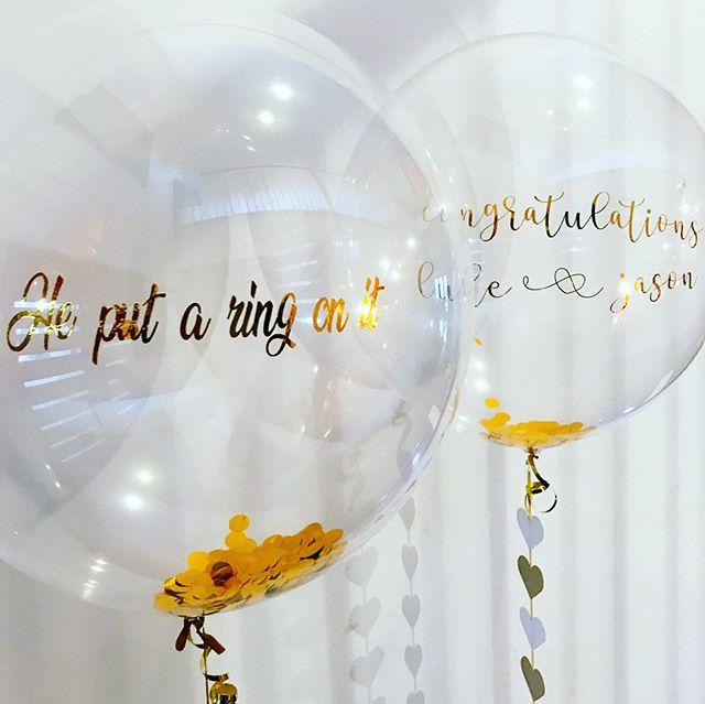 Confetti In a Bubble