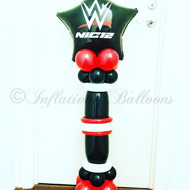 Any wrestling fans?! #inflationsballoons