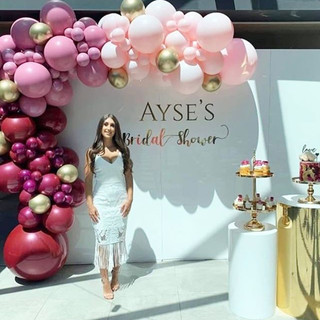 Congratulations Ayse on your Bridal Show