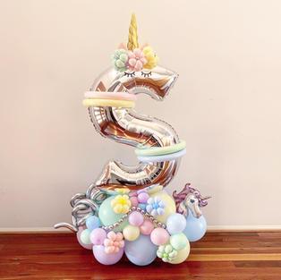 Composition Balloon Letter Art