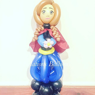 #inflationsballoons #balloons #frozenpar