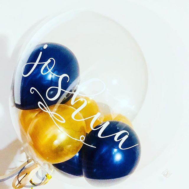 Balloon in a Bubble