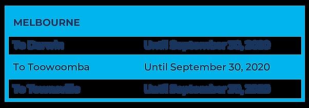 Flight Schedule (MEL-NET to Sept 2020)_S