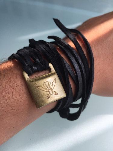 Gokaiger Blue Wrap Bracelet