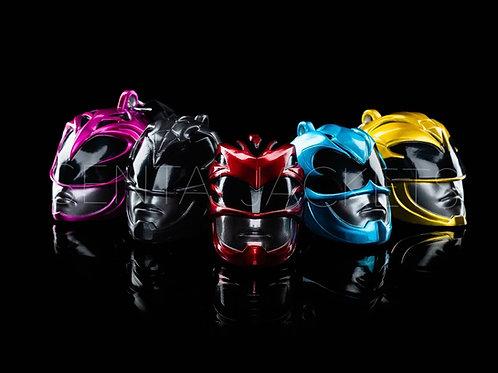 Power Rangers Movie Helmet Set