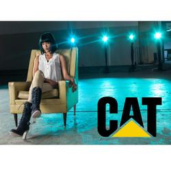 Shontelle Layne for CAT Shoes