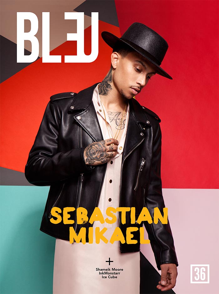 Bleu Magazine Cover