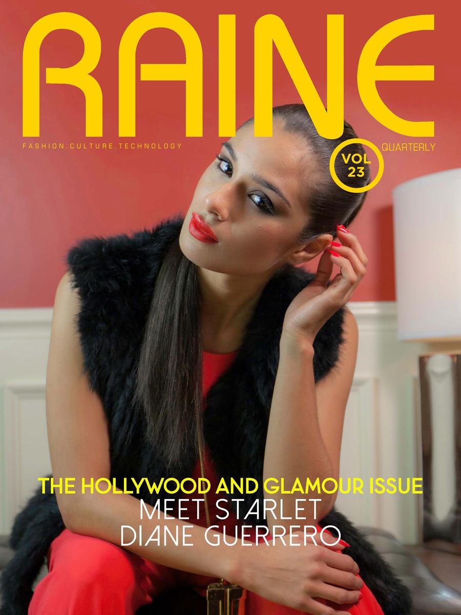 Raine Magazine Cover