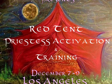 What is a Red Tent Ceremony?