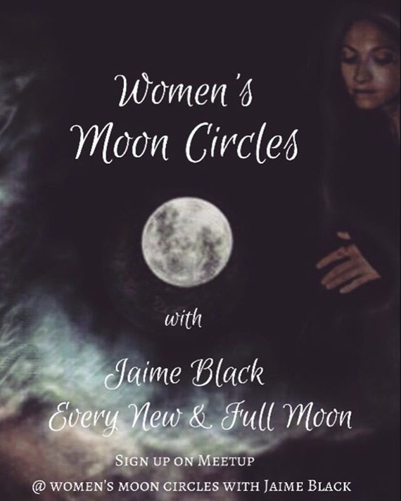 Women's Moon Circles Every New and Full