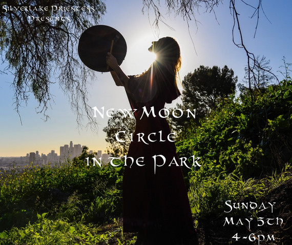 New Moon Circle in the Park