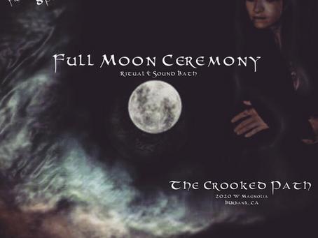 Full Moon Ceremony Feb 7, 2020