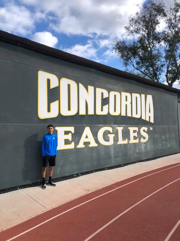 Edgar Granados Signs with Concordia University