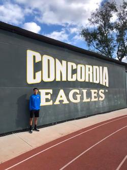 Edgar Granados Signs with Concordia University