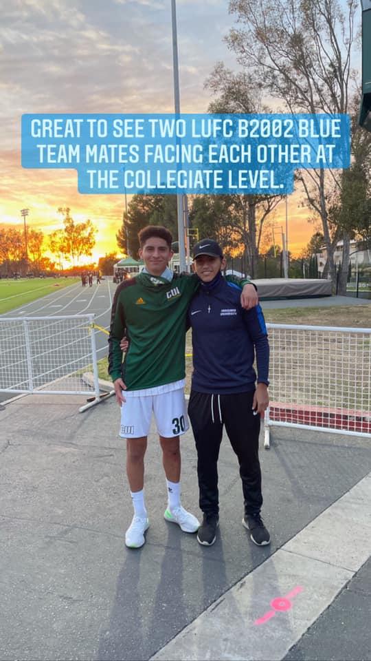 Teammates Reunited
