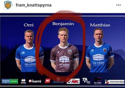 Benji Jonsson Signed with Fram Reykjavik