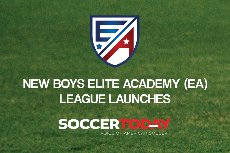 New Boys Elite Academy (EA) League Launches
