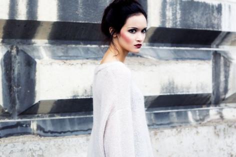 """Ghost"" Photographe : Photographer Aliona Kuznetsova Maquillage/coiffure : Janine Gunti Modèle : Mélissa Montavon"