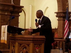 Pastor Young Preaching