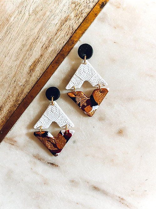 Nala | White, Gold, Black, Red, and Copper