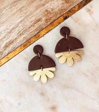 Phoenix Grand Fleur | Brown and Gold