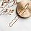 Thumbnail: Frenchie | 14k Gold Necklace with Teardrop Charms