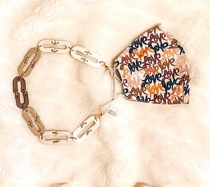 Mask Chain and Bangle   Neutrals