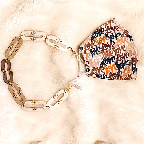 Mask Chain and Bangle | Neutrals